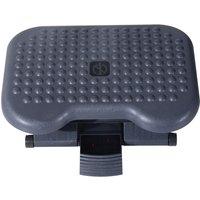 Zennor Adjustustable Desk Footrest - Grey Black