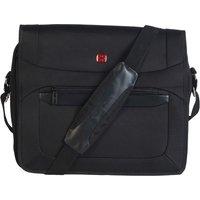 Wenger 16 Inch Business Messenger Bag With Padded Laptop Computer Pocket Black