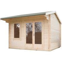 Shire Marlborough 8 ft x 10 ft Log Cabin