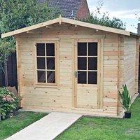 Shire Bucknells 10 ft x 12 ft Log Cabin