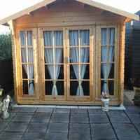 Shire Epping 12 ft x 12 ft Log Cabin
