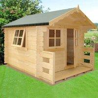 Shire Salcey Mini Log Cabin Playhouse
