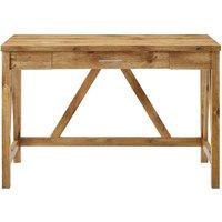 Auriolus Valido Wood Desk - Barnwood