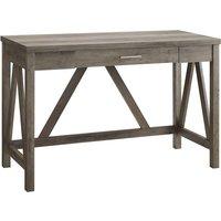 Auriolus Valido Wood Desk - Grey Wash