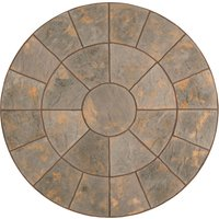 Kelkay Abbey Circle Paving Kit 2.4m - Antique Grey