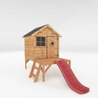 Mercia Snug Playhouse With Tower and Slide