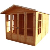 Shire Kensington 7 ft x 10 ft Summerhouse
