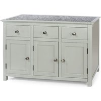 Core Products Perth 3 Door Sideboard With 3 Drawers Stone Top Grey