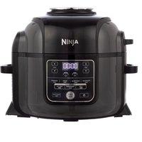 Ninja OP300UK Foodi 6L Electric Multi Pressure Cooker and Air Fryer - Grey and Black