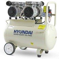 Hyundai Oil-Free 50L Silenced Air Compressor