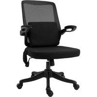 Zennor Breeze Mesh Massage Office Chair - Black