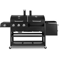 Tower Multi Fuel Wagon BBQ Grill - Black