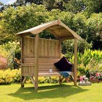 Zest4Leisure Tenby Wooden Garden Arbour