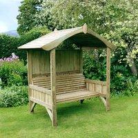 Zest4Leisure Burghley Wooden Garden Arbour