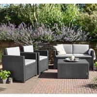 Keter Armona 4 Seat Outdoor Sofa Set - Grey