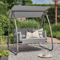 Norfolk Leisure Newmarket Swing Seat - Grey