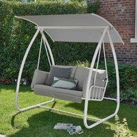 Norfolk Leisure Newmarket Swing Seat - White