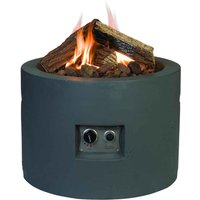 Happy Cocooning Round Cocoon Fire Pit - Grey