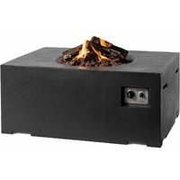 Happy Cocooning Rectangular Cocoon Fire Pit - Black