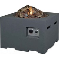 Happy Cocooning Small Square Cocoon Fire Pit - Grey