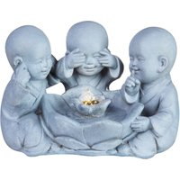 The Outdoor Living Company 3 Monks Water Feature 42x25x28cm - Speak, See and Hear no Evil