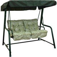 Glendale Renaissance Sage Vienna 2 Seater Hammock Swing Seat - Green