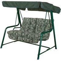 Glendale Aspen Leaf Vienna 2 Seater Hammock Swing Seat - Green