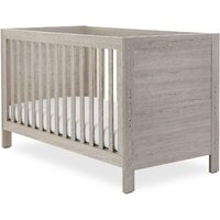 Ickle Bubba Grantham 4 Piece Bundle incl Pocket Sprung Mattress Grey Oak