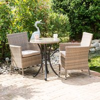 Glencrest Katie Blake Sandringham Bistro Set - Natural
