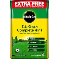 Miracle-Gro Evergreen Complete 4 in 1 360m + 10% extra Lawncare - 12.6kg