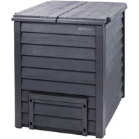 Garantia 600L Thermo Wood Composter with Soil Fence - Anthracite