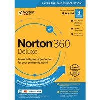 Norton 360 Deluxe 25GB  1 User 3 Devices