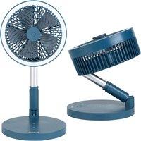 Beldray Cordless Foldable 3 in 1 LED Fan - Blue
