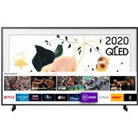 """Samsung 55"""" LS03A The Frame Art Mode QLED 4K HDR Smart TV with Bixby, Alexa and Google Assistant"""