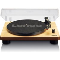 Lenco LS-50WD Turntable with Built-in Speakers and USB Encoding - Wood