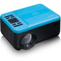 Lenco LPJ-500BU LCD Projector with DVD Player and Bluetooth - Blue