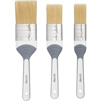 Harris Seriously Good Woodwork Stain and Varnish Paint Brushes - Pack of 3