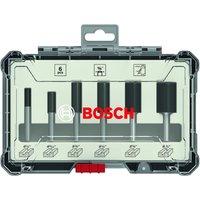 Bosch 6 Piece 1/4