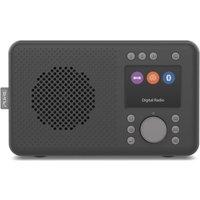 Pure Elan Portable DAB+ Radio with Bluetooth & TFT Colour Display. - Charcoal 248479