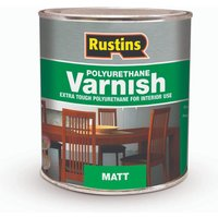 Rustins Polyurethane Varnish Matt Clear 500ml