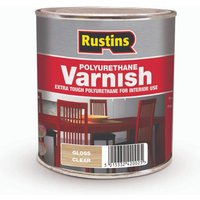 Rustins Polyurethane Varnish Gloss Clear 250ml