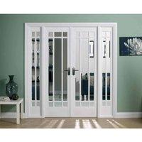 LPD Doors LPD Room Dividers Manhattan W6 Internal Room Divider D3.5 xW190.4 xH203.1cm