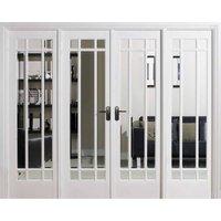 LPD Doors LPD Room Dividers Manhattan W8 Internal Room Divider D3.5 xW247.8 xH203.1cm