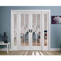 LPD Doors LPD Room Divider Reims W6 Internal Room Divider D3.5 xW190.4 xH203.1cm