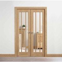 LPD Doors LPD Room Dividers Lincoln W4 Internal Room Divider D3.5 xW124.6 xH203.1cm