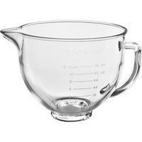 KitchenAid 5KSM5GB 4.7L Glass Bowl with Lid for Stand Mixer - Clear