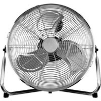 Status 14 Inch High Velocity Floor Fan - Chrome