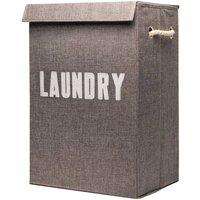 Rex Brown Foldaway Laundry Basket - Grey