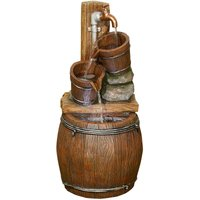 Kelkay The Pouring Barrels Water Feature