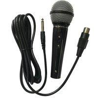 Easy Karaoke Wired Microphone - Black